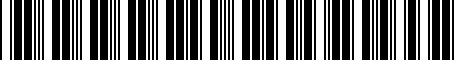 Barcode for 000050515A