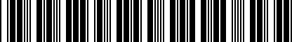 Barcode for 4G8054630