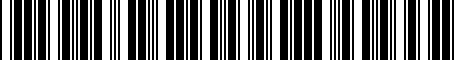 Barcode for 8S0051435A