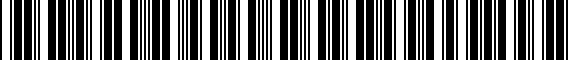 Barcode for ZAW355040BDX9